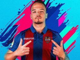 Daniel Aguilar, jugador de FIFA 19