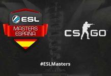Header de ESL Masters CS:GO
