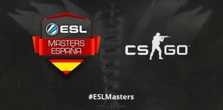 Header de ESL Masters CS:GO