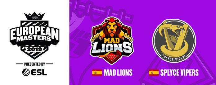 Splyce y MAD Lions European Masters
