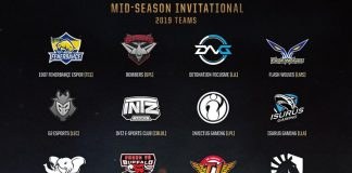Equipos MSI 2019