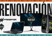Team Heretics renueva con Predator hasta 2020.