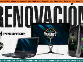Team Heretics renueva con Predator hasta 2020.