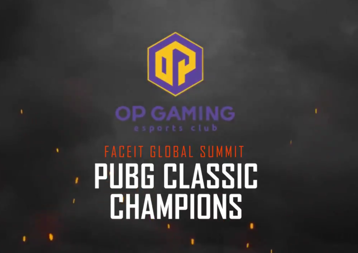 OP Gaming, vencedores del FACEIT Global Summit: PUBG Classic