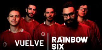 El equipo de R6 de Vodafone Giants para la R6 Spain Nationals.