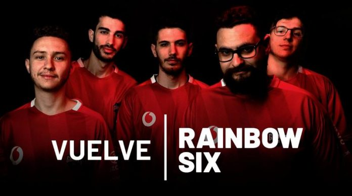 El equipo de R6 de Vodafone Giants para la R6 Spain Nationals.