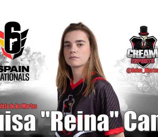 """Entrevista de los martes: Luisa """"Reina"""" Cano, jugadora de Rainbow Six."""