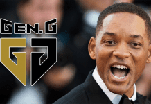Will Smith, nuevo inversor de Gen.G Esports.