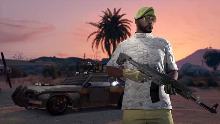Imagen promocional de GTA V