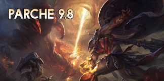 Parche 9.8 de League of Legends.
