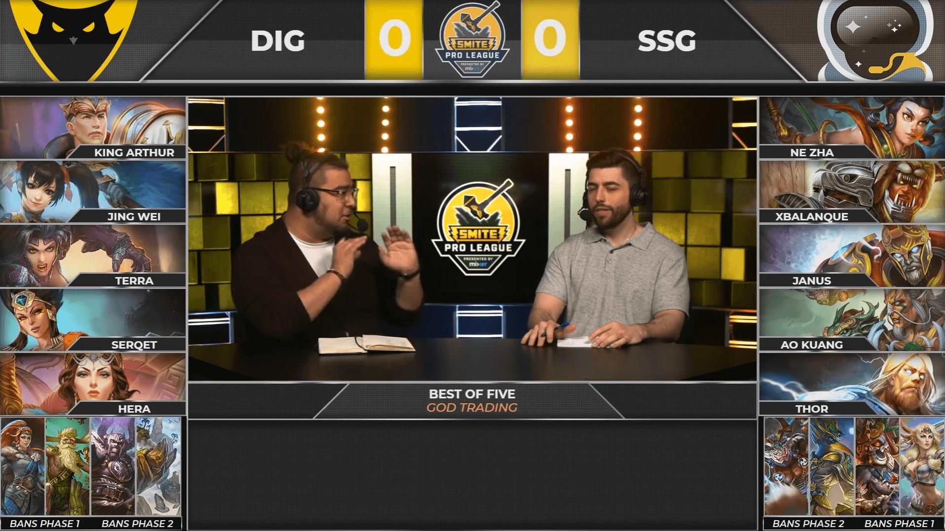 Draft Dignitas y SSG.
