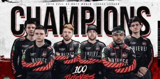 100 Thieves, campeones de CWL London