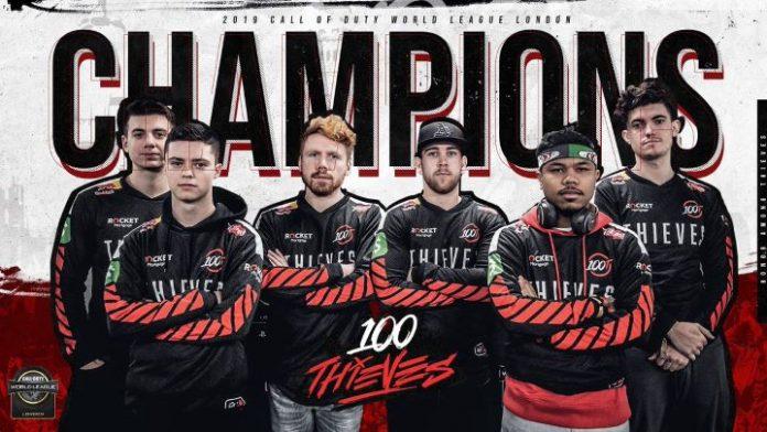 100 Thieves, campeones de CWL London