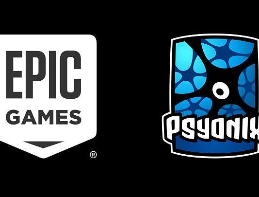 Logo de Epic Games y Psyonix