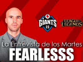 Entrevista de los martes a FearlessS, head coach de Vodafone Giants.