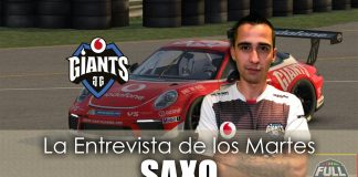 Entrevista de los martes: Saxo, jugador de Vodafone Giants.
