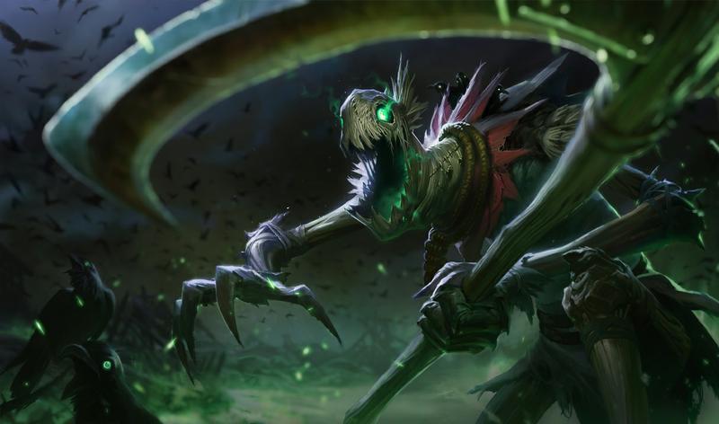 Fiddlesticks, campeón de League of Legends.