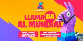 Llamada al Mundial Fortnite World Cup