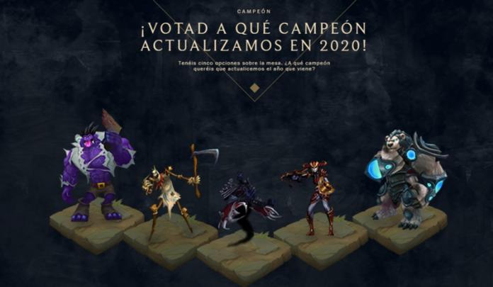 Campeones candidatos a rework de LoL