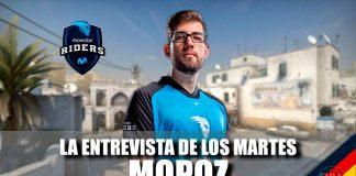 Entrevista a mopoz, jugador de CS:GO de Movistar Riders