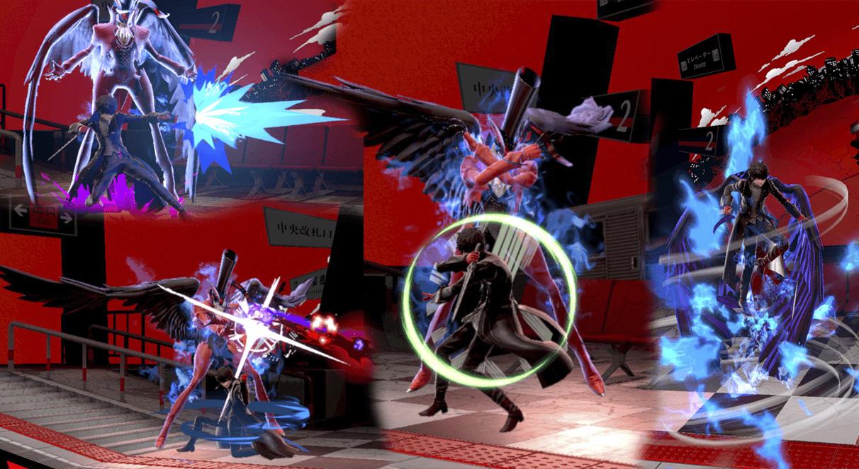 Movimientos de Joker con Arsene activado