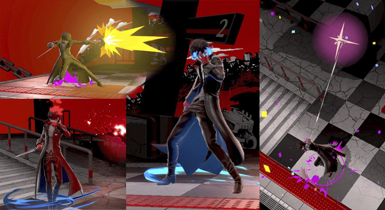 Movimientos de Joker, de Smash Bros.