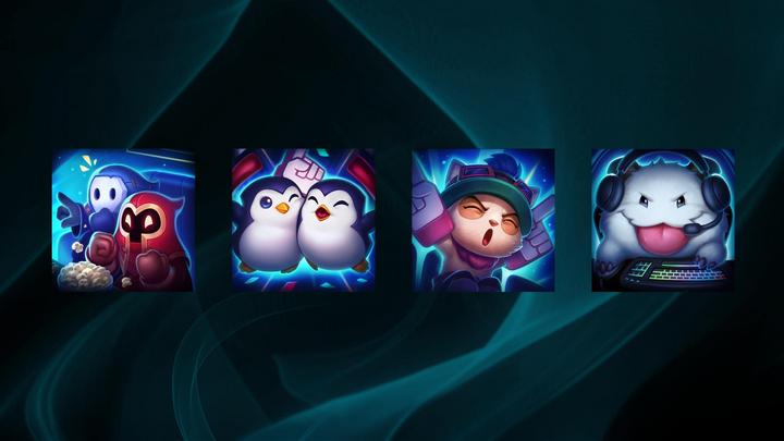Iconos del pase de fan de League of Legends.