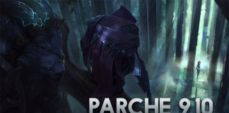 Parche 9.10 de League oF Legends