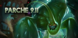 Parche 9.11 League of Legends