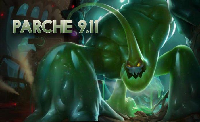 Parche 9.11 League of Legends