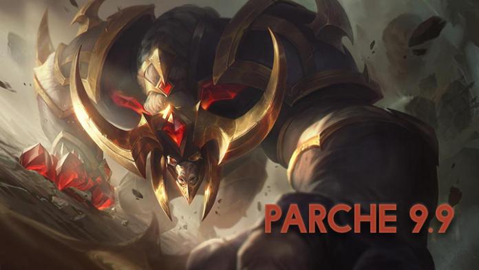 Parche 9.9 League of Legends
