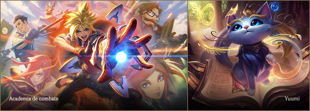Nuevo aspecto de Ezreal junto a Yuumi, nuevas caras del parche 9.10