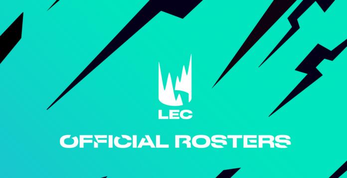 Rosters oficiales para la temporada de verano de la LEC
