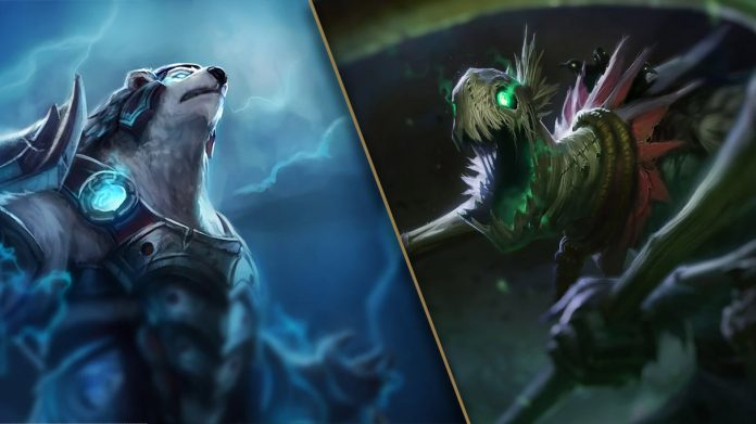 Volibear y Fiddlesticks tendrán un rework en 2020.