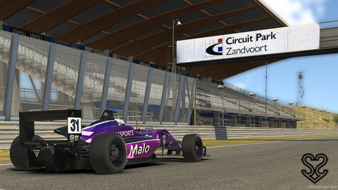 Dallara F3 en Zandvoort GP de S2V Esports.