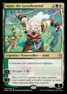 Ajani, the Great Hearted, carta de Magic: The Gathering.