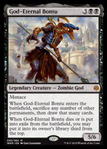 God-Eternal Bontu, carta de Magic: The Gathering.