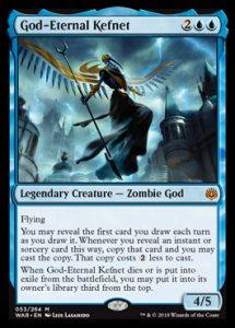 God-Eternal Kefnet, carta de Magic: The Gathering.