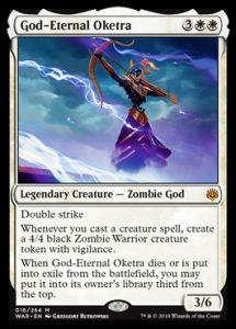 God-Eternal Oketra, carta de Magic: The Gathering.
