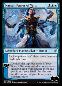Narset, Parter of Veils, carta de Magic: The Gathering.