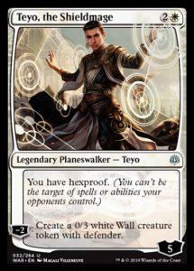 Teyo the Shield Mage, carta de Magic: The Gathering.