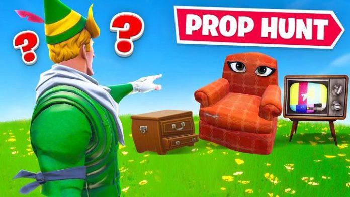 Se ha filtrado el nuevo modo de juego de Fortnite: Prop Hunt.