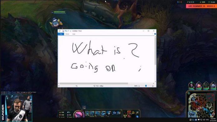 What is going on? Mensaje de Wunder en el Proview G2 Esports-Vitality