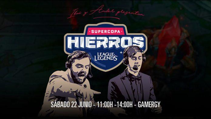 Ibai y Ander castearán la Supercopa de Hierros de Gamergy.