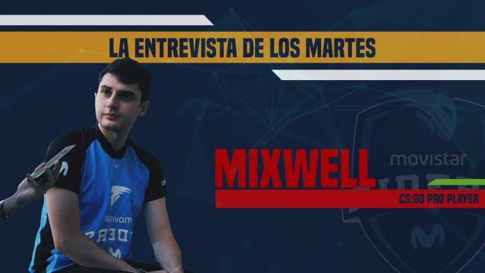 Entrevista a Mixwell, jugador de CS:GO para Movistar Riders.