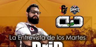 Entrevista de los martes: DriD, jugador de Rainbow Six para Vodafone Giants.