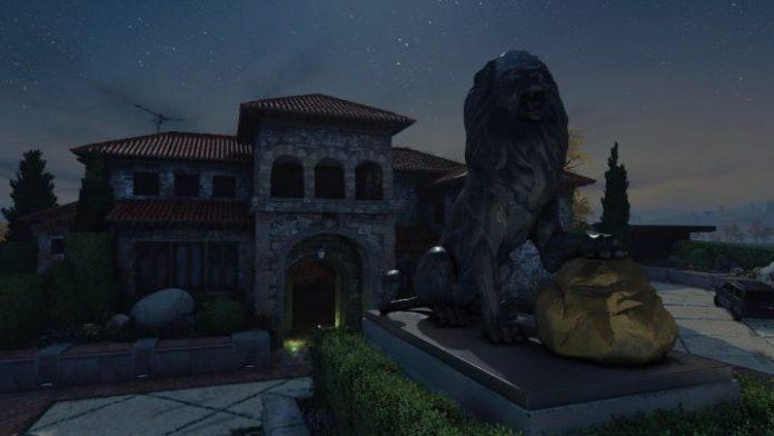 Imagen de Hacienda Twilight en la actualizacion que añaden los Contratos a BO4