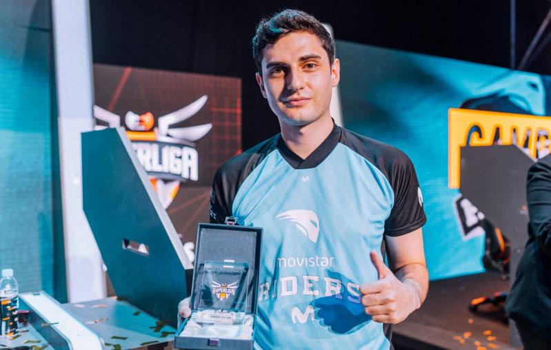 Mixwel, MVP de la Superliga Orange de CS:GO