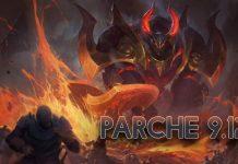 Parche 9.12 League of Legends