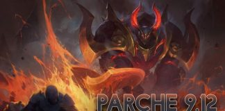 Parche 9.12 League of Legends